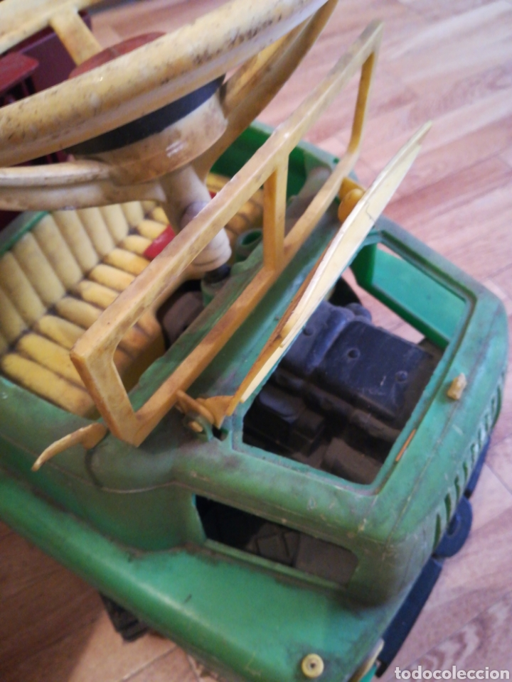 Juguetes antiguos y Juegos de colección: Camión BIG gateador para bebé. Años 70 Pegaso ? - Foto 5 - 217745891
