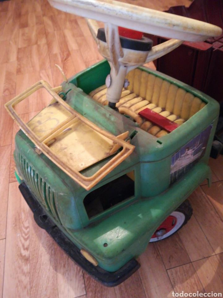 Juguetes antiguos y Juegos de colección: Camión BIG gateador para bebé. Años 70 Pegaso ? - Foto 6 - 217745891