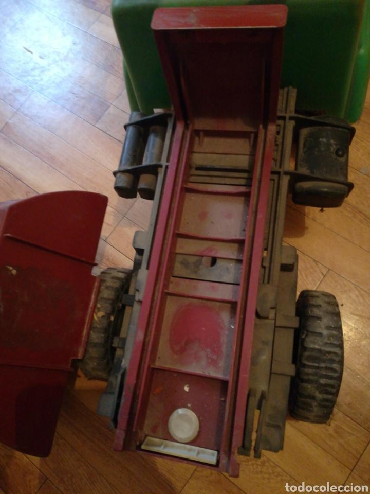 Juguetes antiguos y Juegos de colección: Camión BIG gateador para bebé. Años 70 Pegaso ? - Foto 7 - 217745891