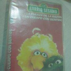 Juguetes antiguos y Juegos de colección: VHS BARRIO SÉSAMO. Lote 177565004