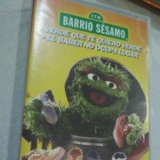 Juguetes antiguos y Juegos de colección: VHS BARRIO SÉSAMO. Lote 177565434