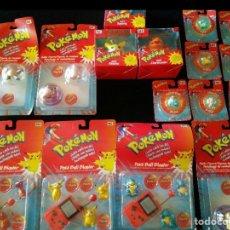 Juguetes antiguos y Juegos de colección: GRAN LOTE DE POKEMON HASBRO 1999 NUEVOS EN SU BLISTER Y CAJA Y RAROS Y DES CATALOGADOS. Lote 177751808