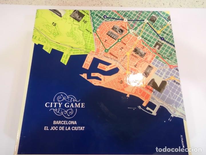 BARCELONA - EL JOC DE LA CIUTAT - CITY GAME (Juguetes - Varios)