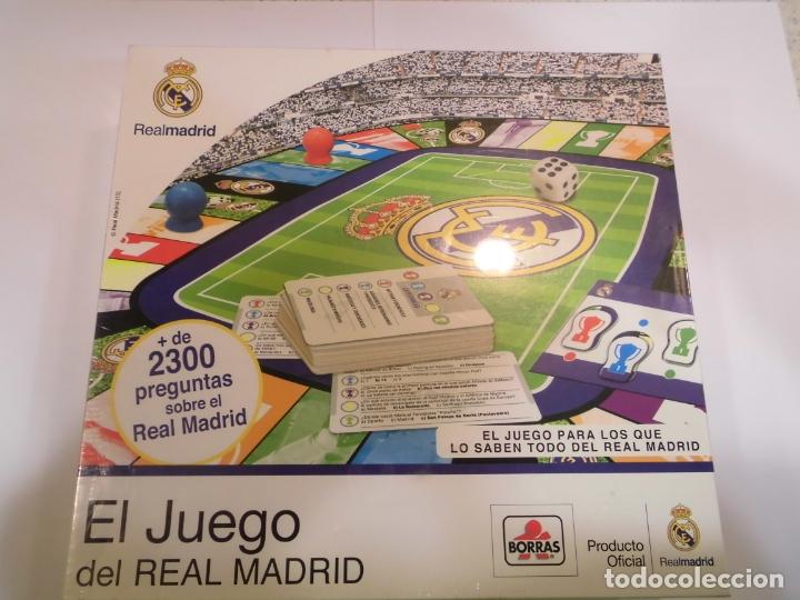 JUEGO OFICIAL DE PREGUNTAS DEL REAL MADRID - BORRAS (Juguetes - Varios)
