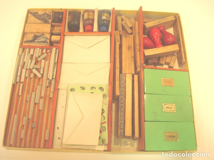 Juguetes antiguos y Juegos de colección: IMPRESORES - MODELO JUNIOR - Foto 2 - 178357585