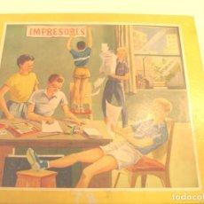 Juguetes antiguos y Juegos de colección: IMPRESORES - MODELO JUNIOR. Lote 178357585