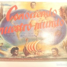 Juguetes antiguos y Juegos de colección: CONOCIENDO NUESTRO MUNDO - JUEGO DE MESA. Lote 178357828