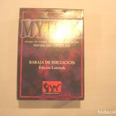 Juguetes antiguos y Juegos de colección: MYTHOS - BARAJA DE INICIACION - PRECINTADO. Lote 178358167