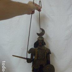 Juguetes antiguos y Juegos de colección: ANTIGUA GRAN MARIONETA DE TEATRO PIPO DE SICILIA, GUERRERO, ORIGINAL.. Lote 178382598