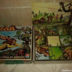 Juguetes antiguos y Juegos de colección: ROMPECABEZAS DALMAU TARZAN. Lote 178391826