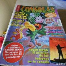 Juguetes antiguos y Juegos de colección: REVISTA CONSOLAS SUPER OK CONSOLAS AÑO 1992. Lote 178855921