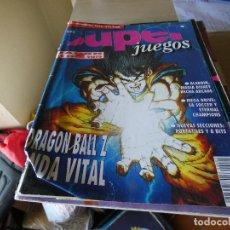 Juguetes antiguos y Juegos de colección: REVISTA CONSOLAS SUPER JUEGOS 20 TAPA ALGO TOCADA EN UNA ESQUINA. Lote 178855962