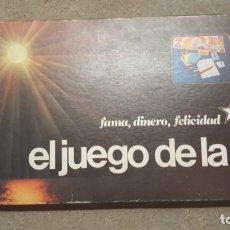 Juguetes antiguos y Juegos de colección: JUEGO , EL JUEGO DE LA VIDA , MARCA BORRÁS COMPLETO. Lote 178997466
