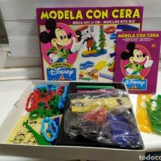 Juguetes antiguos y Juegos de colección: MODELA CON CERA - DISNEY JUGUETES MEDITERRANEO AÑOS 90, USADO. Lote 179051973