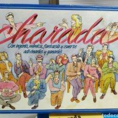 Juguetes antiguos y Juegos de colección: JUEGO CHARADA DE INGENIO, MÍMICA, FANTASIA Y SUERTE - EDUCA SALLENT HERMANOS 1988. Lote 179052090