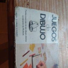 Juguetes antiguos y Juegos de colección: JUEGOS DE DIBUJO GEYPER INCOMPLETO. Lote 179135361