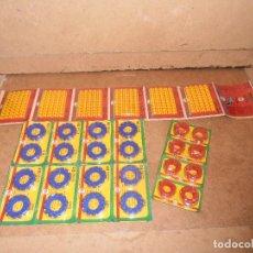 Juguetes antiguos y Juegos de colección: LOTE BLISTER TIROS RIS PARA PISTOLA JUGUETE FULMINANTES PISTONES AÑOS 70. Lote 179189485