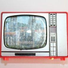 Juguetes antiguos y Juegos de colección: VISOR TELEVISION DIAPOSITIVAS SOUVENIR - BURGOS - AÑOS 70. Lote 179256621
