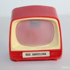 Juguetes antiguos y Juegos de colección: VISOR TELEVISION DIAPOSITIVAS SOUVENIR - RDO BARCELONA - AÑOS 70. Lote 179257617