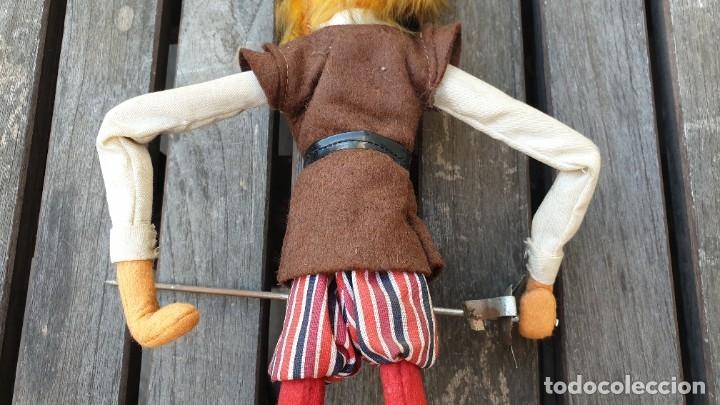 Juguetes antiguos y Juegos de colección: DON QUIJOTE Y SANCHO PANZA DE ROPA Y FELPA MUY ANTIGUOS - Foto 10 - 122099731