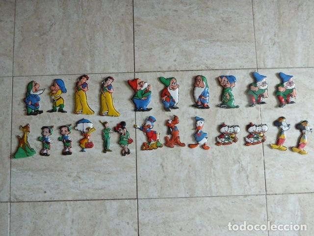 Juguetes antiguos y Juegos de colección: LOTE DE 23 FIGURAS DE CROMOPLAST. FLAN MANDARIN. LAS DE LA FOTO. ALGUNOS REPETIDOS. - Foto 2 - 181014080