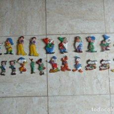 Juguetes antiguos y Juegos de colección: LOTE DE 23 FIGURAS DE CROMOPLAST. FLAN MANDARIN. LAS DE LA FOTO. ALGUNOS REPETIDOS.. Lote 181014080