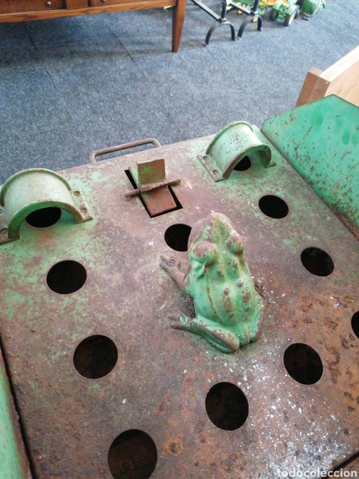 Juguetes antiguos y Juegos de colección: Juego de la rana de chapa - Foto 5 - 181129201