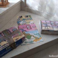 Juguetes antiguos y Juegos de colección: ANTIGUO ROMPECABEZAS DE TINTIN AÑO 1979 CARLES DALMAU REF. 676. Lote 181172865