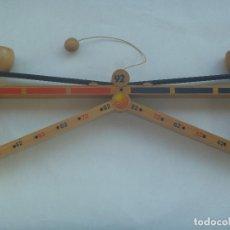 Juguetes antiguos y Juegos de colección: COLECCIONISMO EXPO´92 DE SEVILLA : JUEGO INFANTIL DE MADERA , EL PERIBOL. DIFICIL DE ENCONTRAR. Lote 181392950