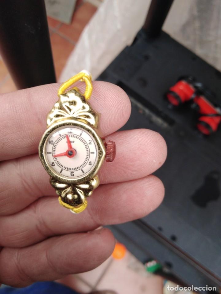Juguetes antiguos y Juegos de colección: reloj hedi juguetes kiosko años 60 70 articulo nuevo sacado de blister - Foto 2 - 257321470