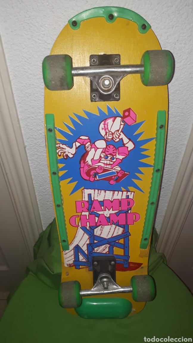 Juguetes antiguos y Juegos de colección: Patín patinete monopatin años 80 RAMP CHAMP - Foto 4 - 181874247