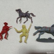 Juguetes antiguos y Juegos de colección: FIGURAS DE PLÁSTICO. Lote 182033717
