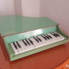 Juguetes antiguos y Juegos de colección: PIANO MADERA 50 CM. Lote 182045602