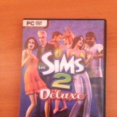 Juguetes antiguos y Juegos de colección: EA THE SIMS 2 DELUXE - SIMULATION GAME - PC - ELECTRONIC ARTS. Lote 182081537