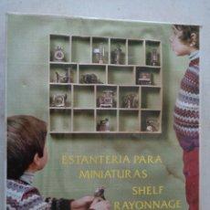 Juguetes antiguos y Juegos de colección: ESTANTERIA PARA MINIATURAS DE PLAYME. Lote 225782945