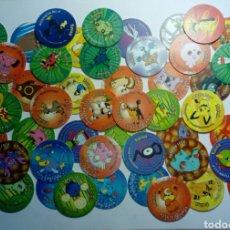 Juguetes antiguos y Juegos de colección: LOTE DE 50 TAZOS POKEMON TAZO 3. MATUTANO. Lote 183170080