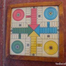 Juguetes antiguos y Juegos de colección: PARCHIS PEQUEÑAS DIMENSIONES MUY ANTIGUO. Lote 183475332