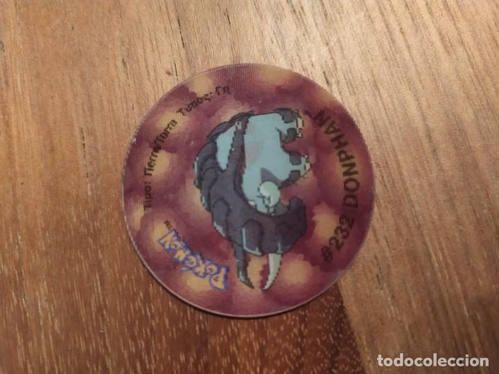 TAZO POKEMON HOLOGRAFICO 3 PHANPY - DONPHAN (Juguetes - Varios)