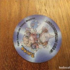 Juguetes antiguos y Juegos de colección: TAZO POKEMON HOLOGRAFICO 3 HITMONLEE - HITMONCHAN. Lote 183611016