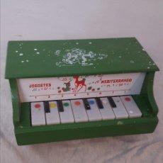 Juguetes antiguos y Juegos de colección: PIANO JUGUETES MEDITERRÁNEO. Lote 183630271