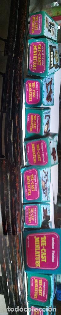 Juguetes antiguos y Juegos de colección: IMPRESIONANTE COLECCIÓN ANTIGUAS MINIATURAS DE HIERRO, DIE-CAST. ANTIQUE FINISHED. PENCIL SHARPENER. - Foto 2 - 184324075