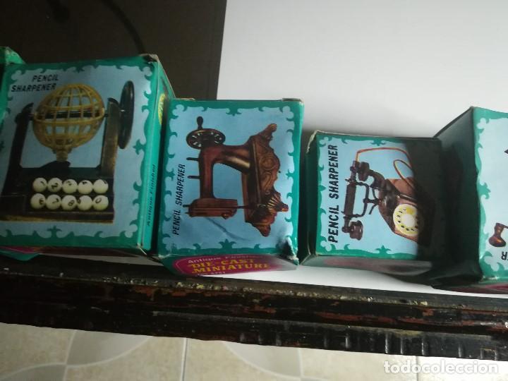 Juguetes antiguos y Juegos de colección: IMPRESIONANTE COLECCIÓN ANTIGUAS MINIATURAS DE HIERRO, DIE-CAST. ANTIQUE FINISHED. PENCIL SHARPENER. - Foto 37 - 184324075