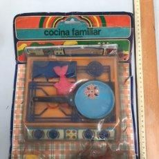 Juguetes antiguos y Juegos de colección: ANTIGUO BLISTER COCINA FAMILAR. Lote 185395918