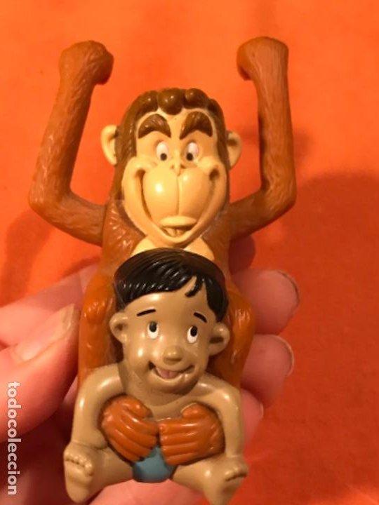 Juguetes antiguos y Juegos de colección: Mowgli juguete cuerda manual giratorio brazos mono niño 2003 juguete mac donalds libro de la selva - Foto 5 - 185731698