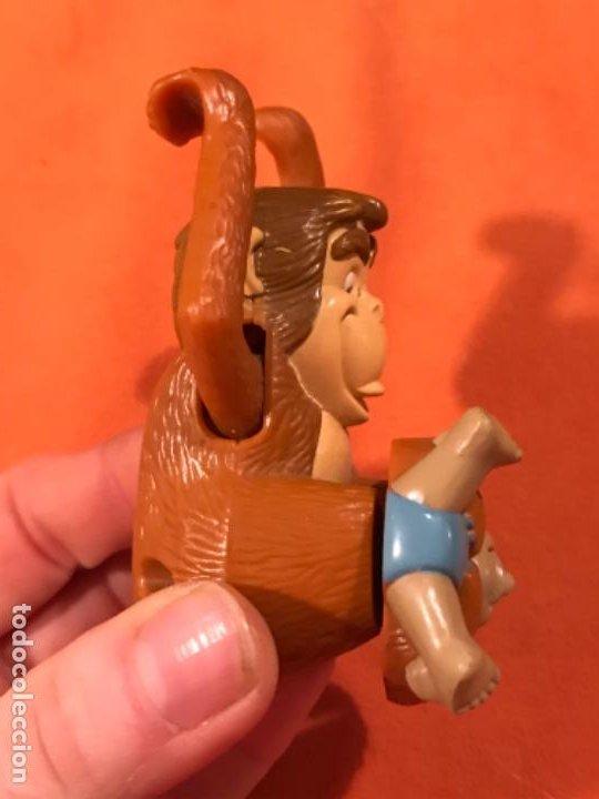 Juguetes antiguos y Juegos de colección: Mowgli juguete cuerda manual giratorio brazos mono niño 2003 juguete mac donalds libro de la selva - Foto 8 - 185731698