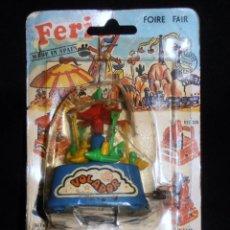 Juguetes antiguos y Juegos de colección: ATRACCION DE FERIA, VOLADOR , SHAMBERS, VALENCIA, MADE IN SPAIN. Lote 186111925