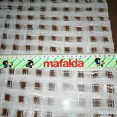 Juguetes antiguos y Juegos de colección: REGLA MAFALDA AÑOS 80 SIN USAR. Lote 186238933