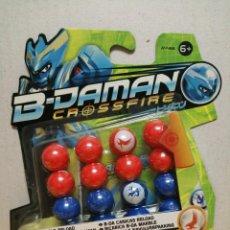 Juguetes antiguos y Juegos de colección: CANICAS B-DAMAN CROSSFIRE 16 CANICAS . Lote 187471306