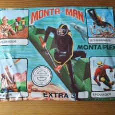 Juguetes antiguos y Juegos de colección: MONTAMAN MONTAPLEX SOBRE EXTRA N° 3 SOBRE SORPRESA SIN ABRIR. Lote 293294198