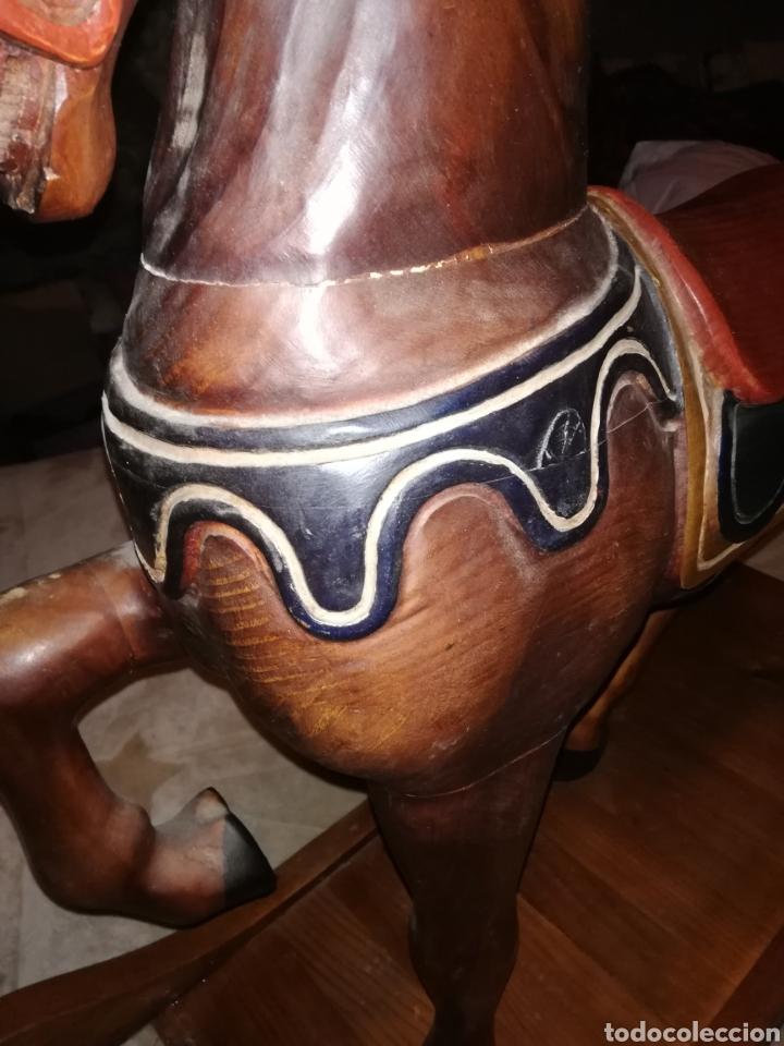 Juguetes antiguos y Juegos de colección: Caballo balancin madera - Foto 13 - 188502120